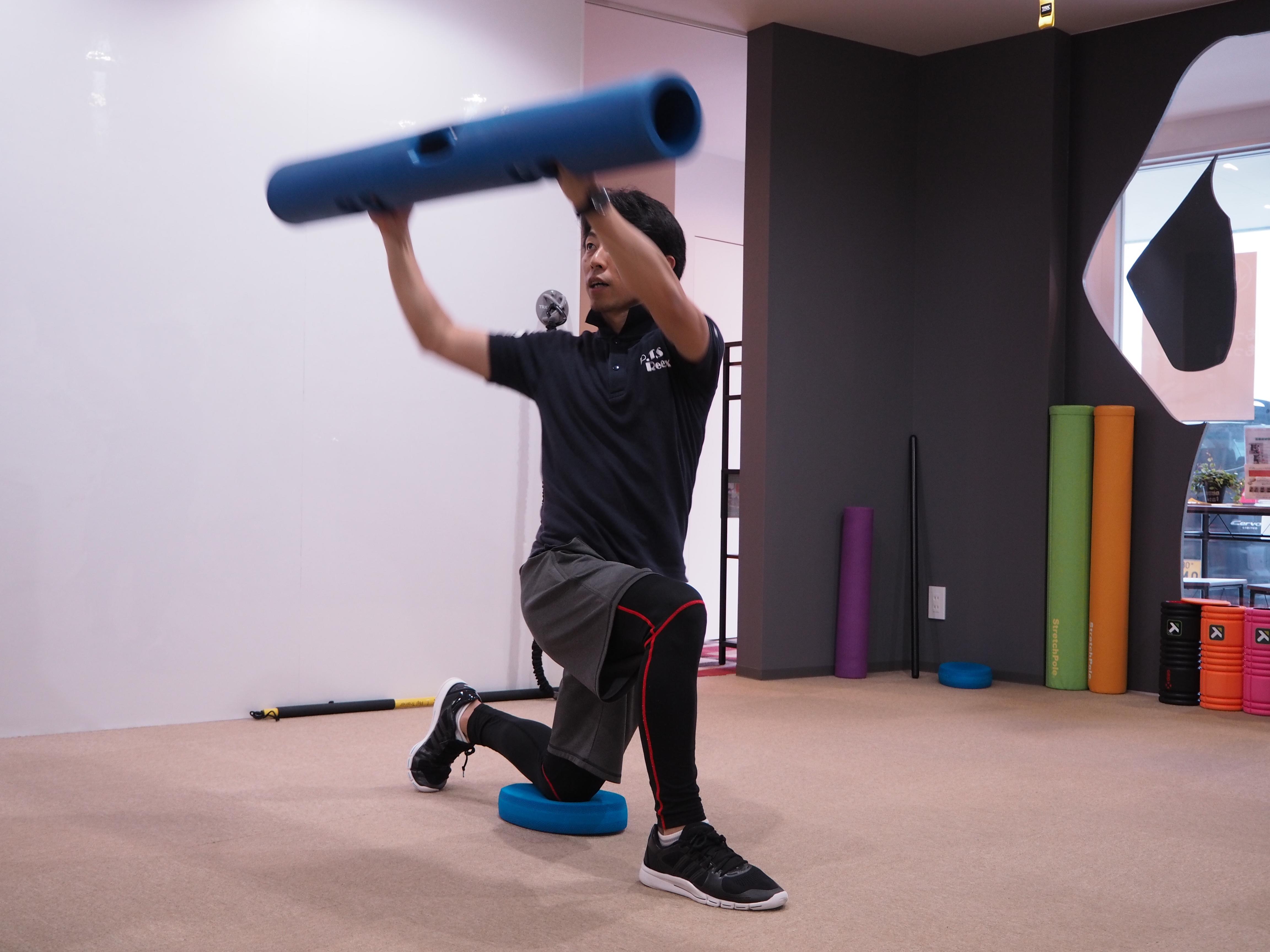パーソナルトレーニングの流れ⑥ ~筋力強化:ストレングストレーニング~