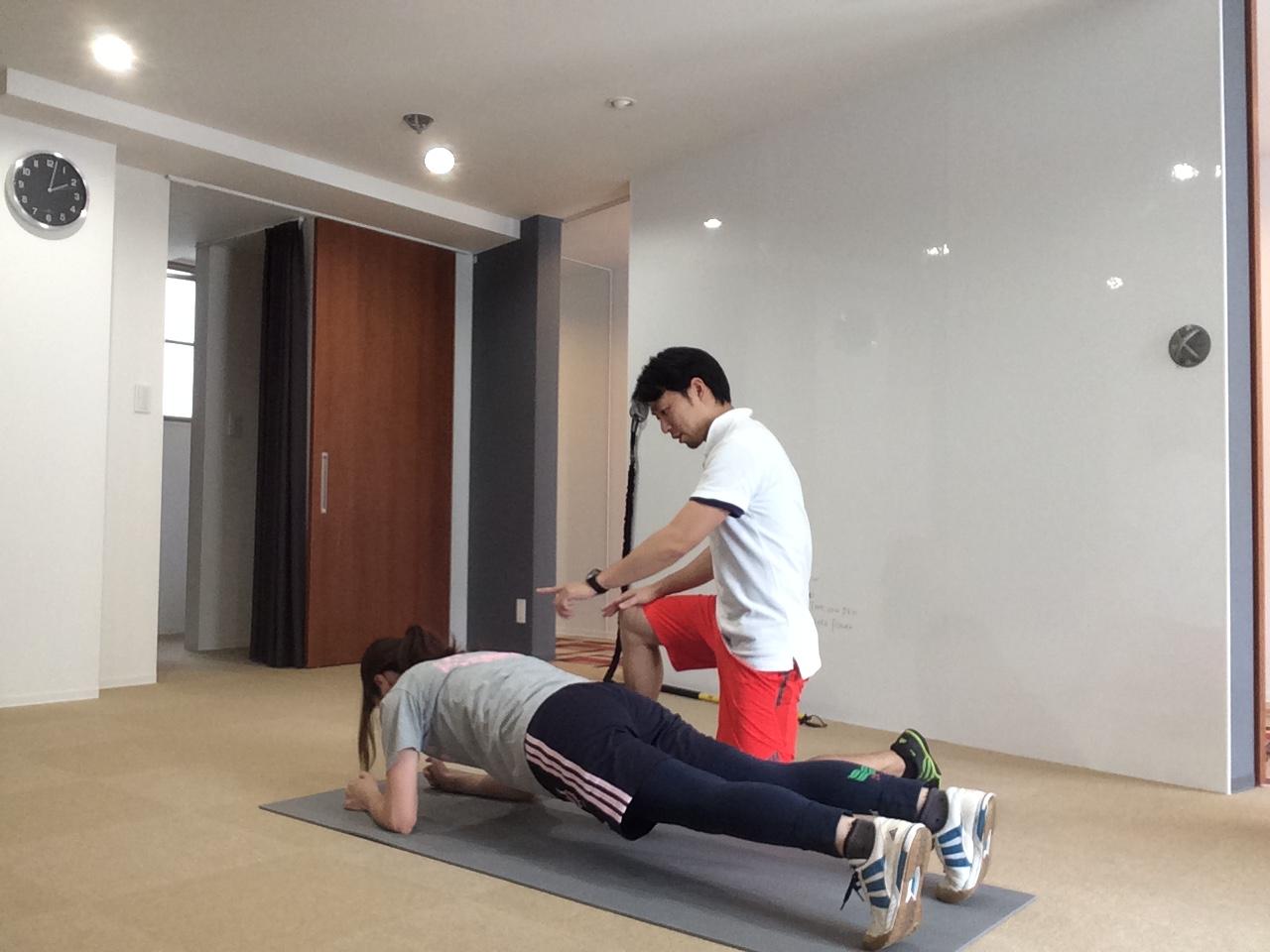 雑誌に載っているトレーニング